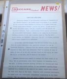 "Dinky Toys Liverpool original Press Photograph and 2 page letter 21/1/1969 introducing Dinky 102 ""Joe's Car"""